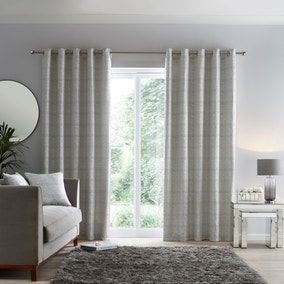 Molly White Eyelet Curtains