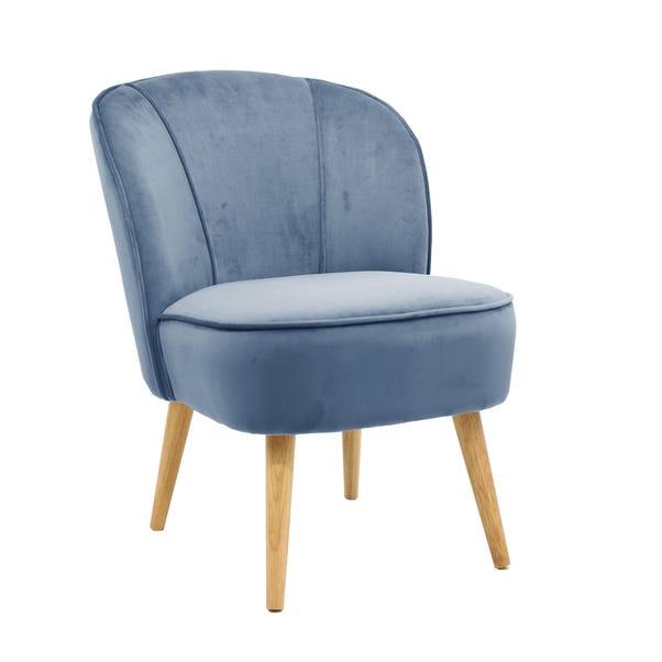Elsie Cocktail Chair - Ashleigh Blue