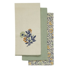 Pack of 3 Arts and Crafts Tea Towels