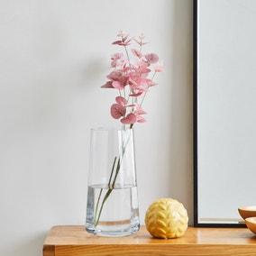 Artificial Eucalyptus Spray Pink 72cm