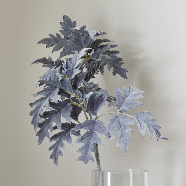 Artificial Dusty Miller Grey Spray 72cm Grey
