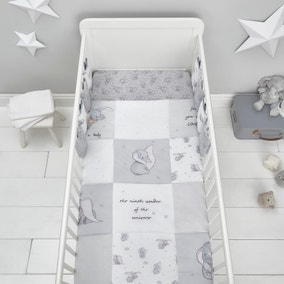 Dumbo 100% Cotton 4 Tog Cot Quilt