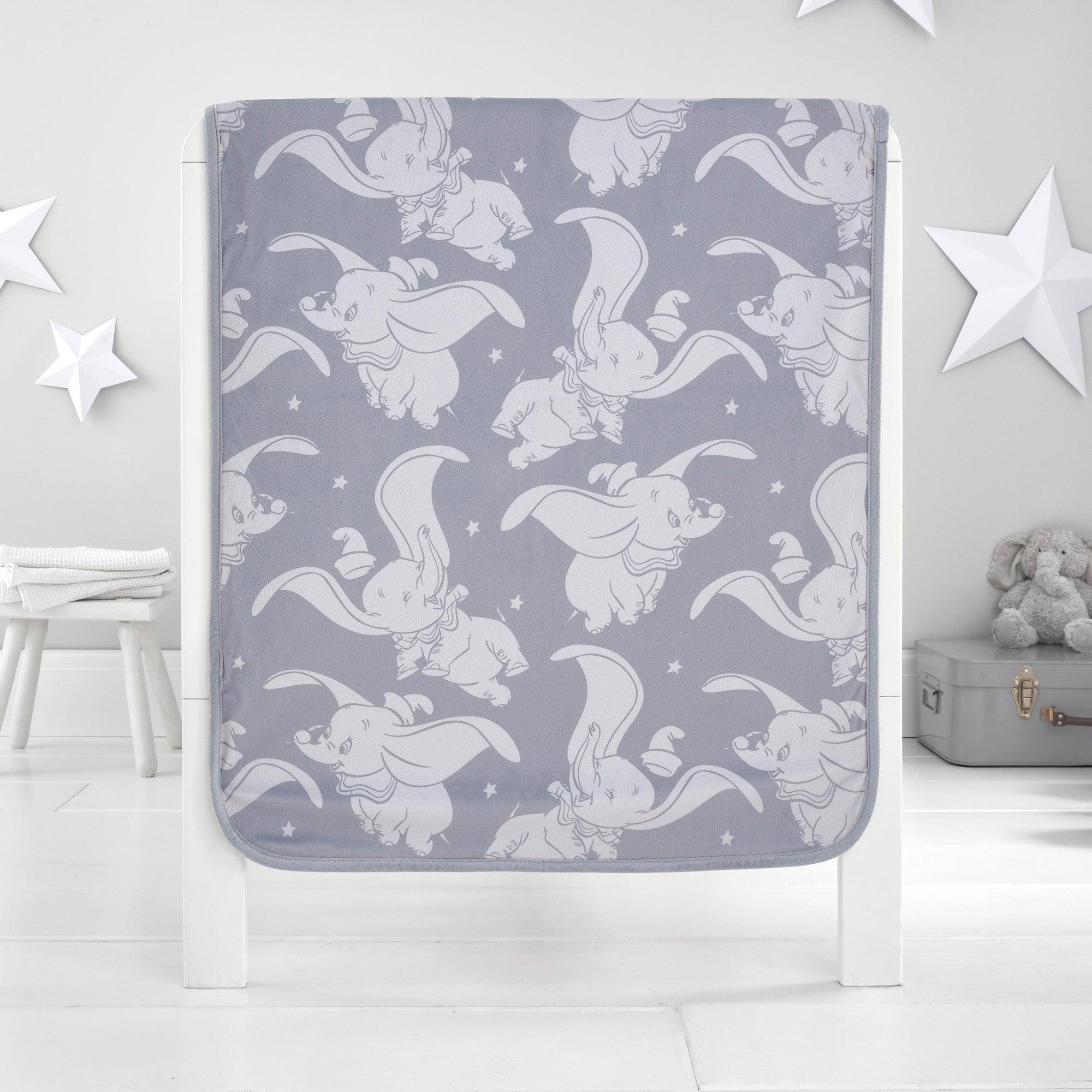 Photo of Dumbo fleece blanket grey