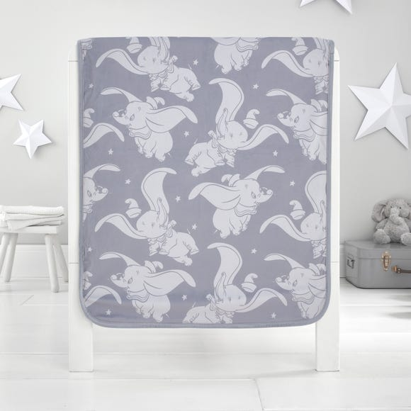 Dumbo Fleece Blanket Grey