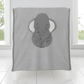 Dumbo Knitted Blanket