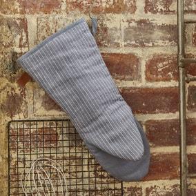 Ulster Weavers 1880 Linen Grey Single Oven Glove