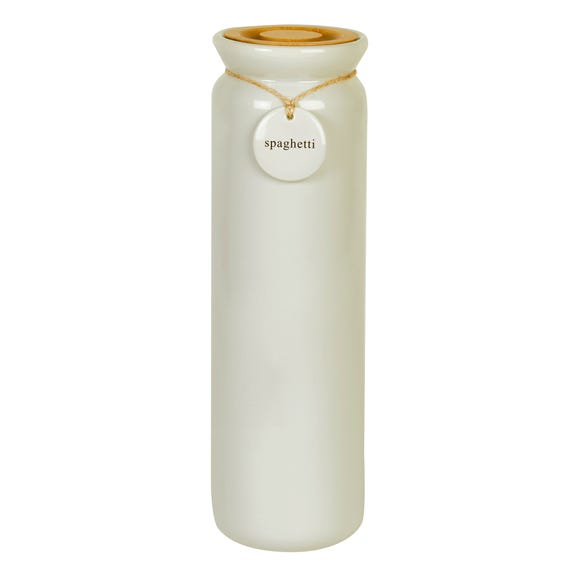 Hang Tag Cream Pasta Canister Cream