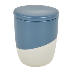 Blue Pastels Dipped Canister