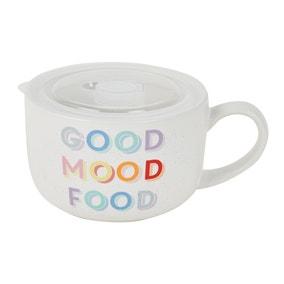 Rainbow Ceramic Soup Mug