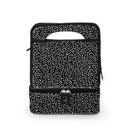 Monochrome Dotty Lunch Bag