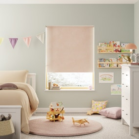 Sparkle Pink Blackout Twist Safe Roller Blind