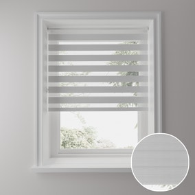 Day and Night White Daylight Roller Blind