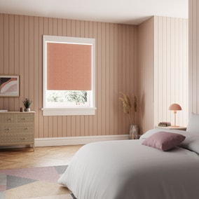 Montreal Rose Blackout Roller Blind