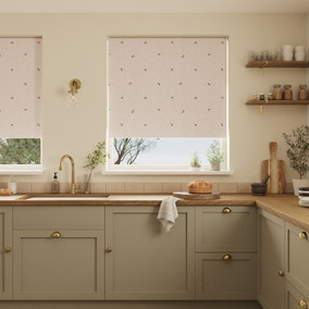 Bees Natural Stain Resistant Daylight Roller Blind