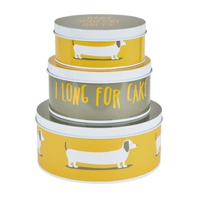 Dunelm Bertie Cake Tins