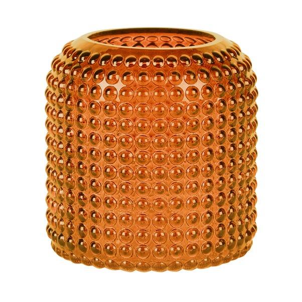Amber Large Retro Vase Amber