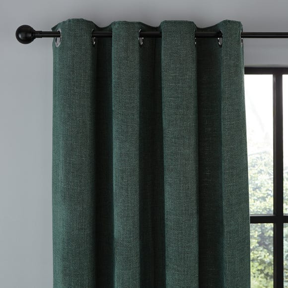 Wynter Jade Thermal Eyelet Curtains  undefined