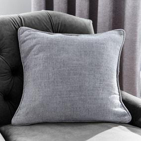 Aubrey Chenille Grey Cushion