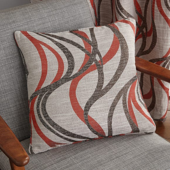 Mirage Red Cushion Red