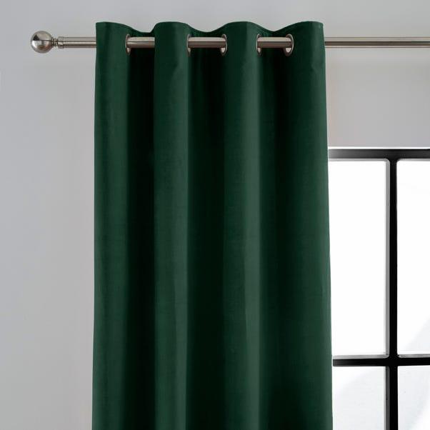 Peyton Emerald Eyelet Curtains  undefined