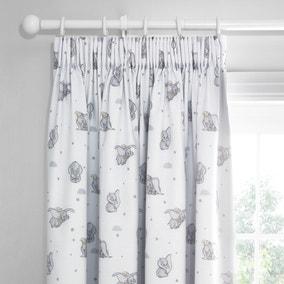 Dumbo Pencil Pleat Blackout Curtains