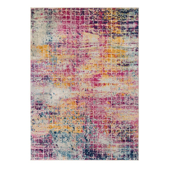Urban Abstract Rug Urban Abstract Pink undefined