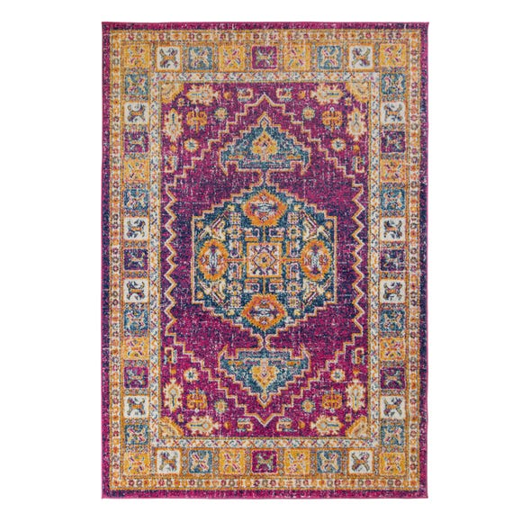 Urban Traditional Rug Urban Pink undefined