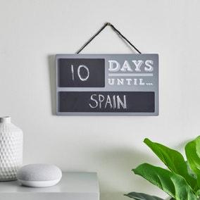 Countdown Plaque