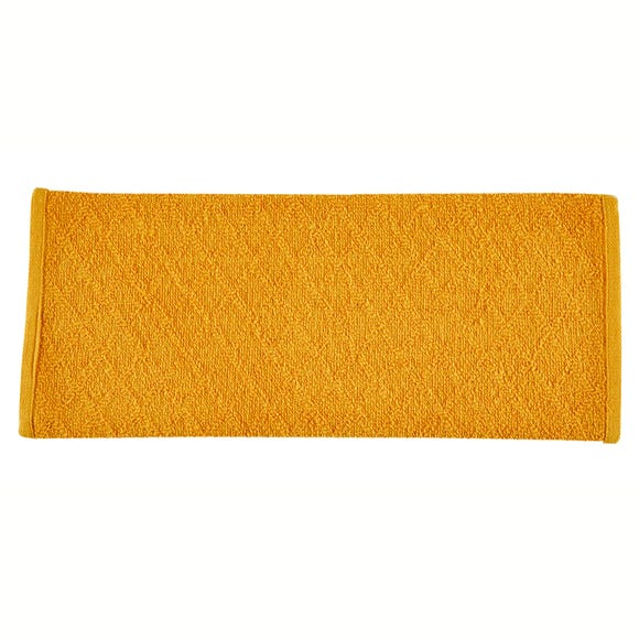 Pack of 5 Ochre Terry Tea Towels
