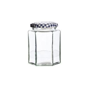 Kilner Hexagonal Twist Top 280ml Jar