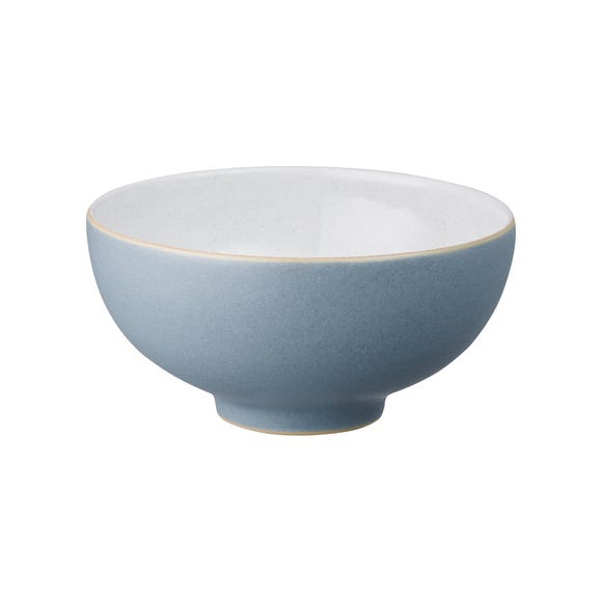 Denby Impression Blue Rice Bowl Blue