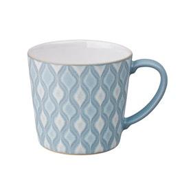 Denby Impression Large Blue Accent Mug