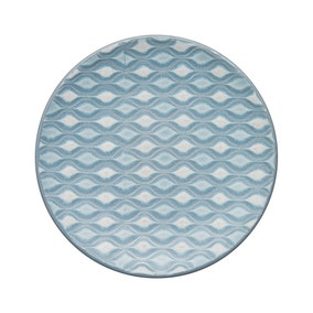 Denby Impression Small Blue Accent Plate