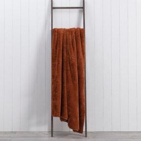 Aspen Plush Faux Fur 200cm x 200cm Throw