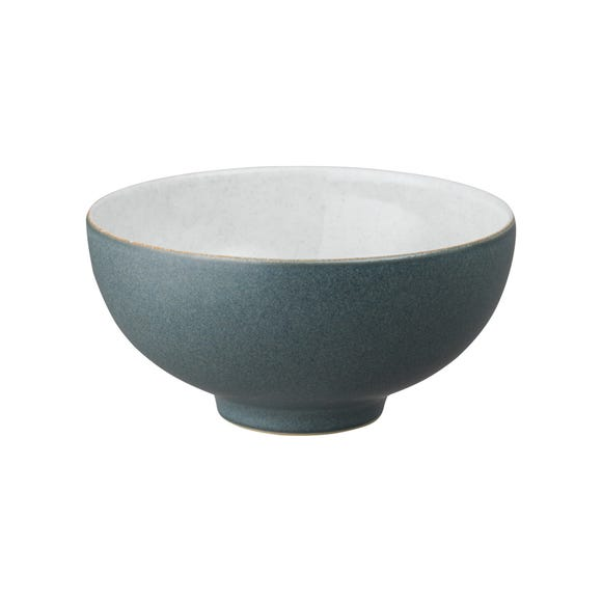Denby Impression Charcoal Rice Bowl Black