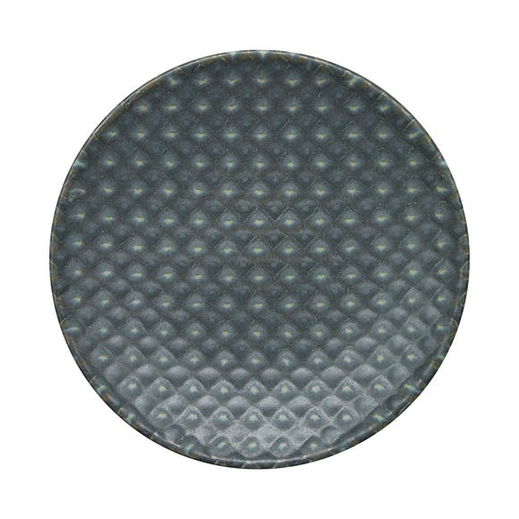 Denby Impression Small Charcoal Accent Plate Grey