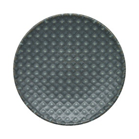 Denby Impression Small Charcoal Accent Plate