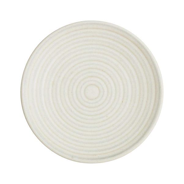 Denby Impression Small Cream Accent Plate Cream