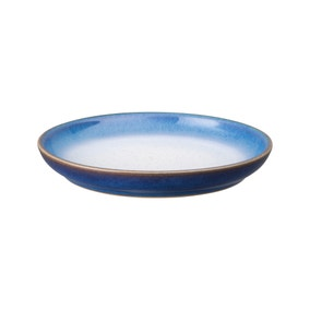 Denby Imperial Blue Haze Small Coupe Plate