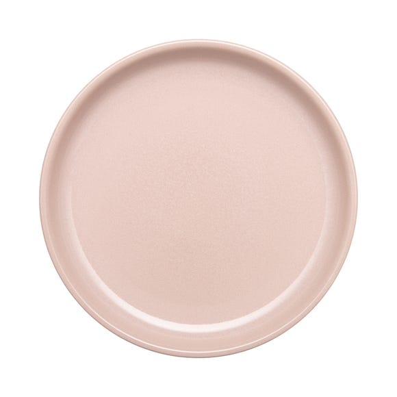 Denby Heritage Cloud Medium Rose Coupe Plate Pink