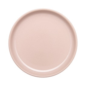 Denby Heritage Cloud Medium Rose Coupe Plate