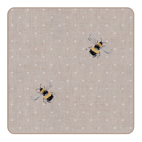 Set of 4 Bee Coasters
