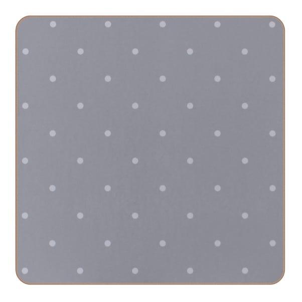 Set of 4 Ashbourne Coasters Grey
