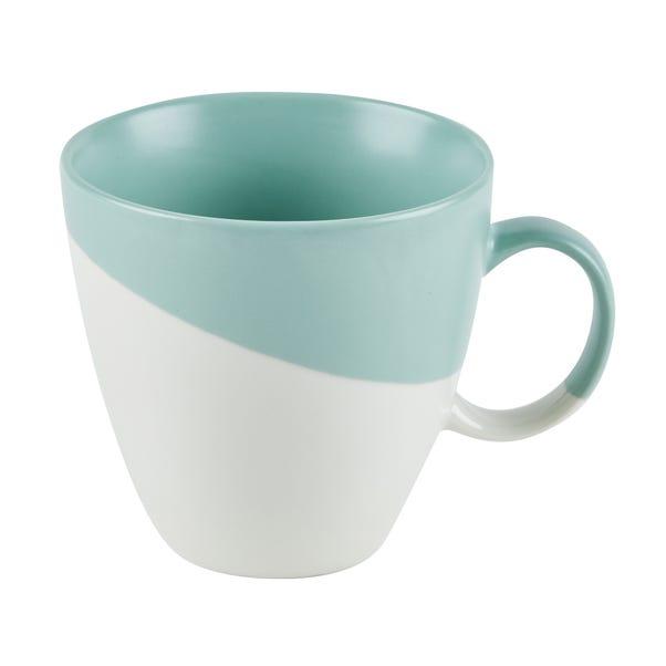 Pastel Green Dipped Mug Green