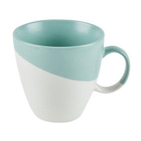 Pastel Green Dipped Mug