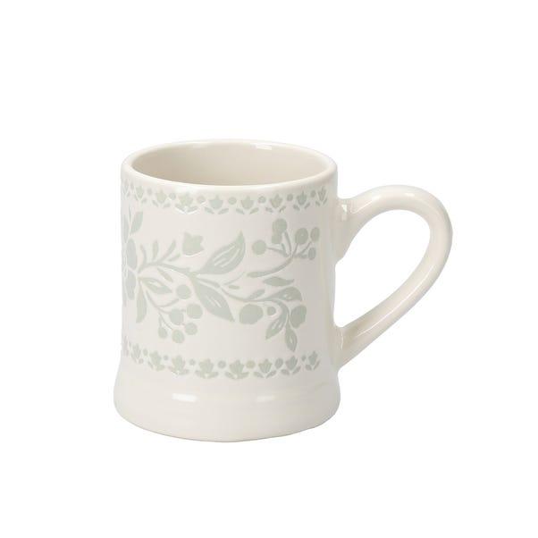 Arts and Crafts Small Footed Mug Cream