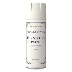 Rust-Oleum Antique White Furniture Spray Paint 400ml