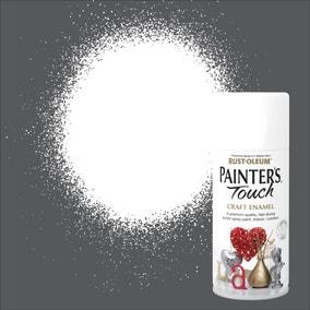 Rust-Oleum Painters Touch White Enamel Spray Paint 150ml