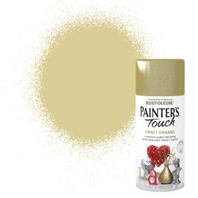 Rust-Oleum Painters Touch Metallic Gold Enamel Spray Paint 150ml
