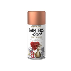 Rust-Oleum Painters Touch Metallic Copper Enamel Spray Paint 150ml